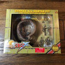 The Ultimate Soldier Playset 32X 1:32 NIB Unused German 8CM Mortar Pit Toys 8