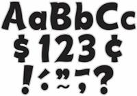 "208-Piece Bulletin Board & Classroom Sign Letters w/ Punctuation Marks (4"")"