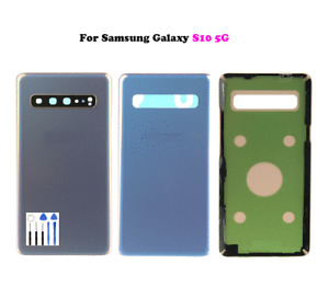 Back Door Glass Rear Housing Battery Cover + Adhesive For Samsung Galaxy S10 5G