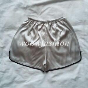 Womens Lingerie Anti-Static Satin Skirt Pettipant Half Slip Hot Short Lingerie