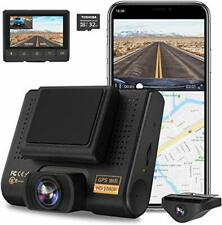AQP Dual Dash Cam, Full HD 1080P Car Camera Front and Rear for Cars, Dashboard