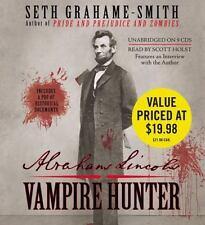 ABRAHAM LINCOLN VAMPIRE HUNTER unabridged audio CD  SETH GRAHAME-SMITH Brand New