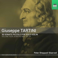 PETER SHEPPARD SKAERVED-TARTINI: 30 SONATE PICCOLE. VOLUME FOUR-JAPAN CD F04