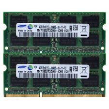 Samsung RAM SO DIMM DDR3 PC3 8GB (4GBx2) 10600S 204Pin 1333Mhz  Speicher [45]