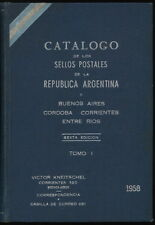 ARGENTINA - 1958 V. Kneitschel Specialized Catalogue 6th Edition (2 Volumes)