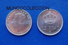 MONEDA DE 25 PESETAS 1983 M Juan Carlos I  S/C - SPAIN km#824 UNC