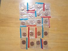 Lincoln Cent Penny 20 Coin Set 1970 1971 1972 - 1978 1979 P D Sealed Mint Cello