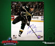 Mike Modano SIGNED Stars 8X10 Photo -70066