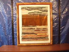 "Daryl Howard Early Artwork ""Between Valley Sands"" 1986"