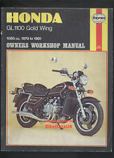Honda GL1100 Gold Wing (1979-1981) Haynes Manual GL 1100 K D DX Interstate >>>>
