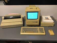 MacIntosh Plus 1Mb computer - all original