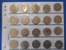 1970 TO 2016 COMPLETE SET COMMEMORATIVE 50 Cent COINS  IN FREE COIN PAGE
