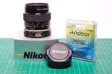 Nikon 55mm f/2.8 Micro-Nikkor AI-S Macro Lens (D200 D300 D600 D700 D800 D7000)