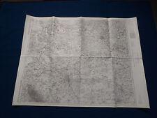 Landkarte Großblatt 61 Hannover - Celle - Peine, 1:100000, von 1945