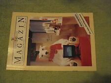 Steiff Club Magazin 1999 Teddys Wanderausstellung + Festival / Einlageblatt