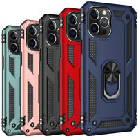 For iPhone 12, 12 Pro Max Case Heavy Duty Shockproof Armor Kickstand Hard Cover
