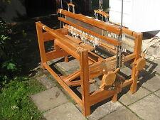 Large Sweden wooden floor weaving loom