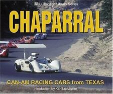 Chaparral: Can-Am Racing Cars from Texas (Ludvigsen Library)-ExLibrary