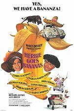 HERBIE GOES BANANAS Movie POSTER 27x40 Cloris Leachman Charles Martin Smith