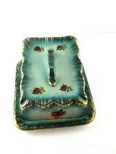 Cheese Keep Dish Keeper Victorian Ironstone Porcelain Transferware Blue Antique