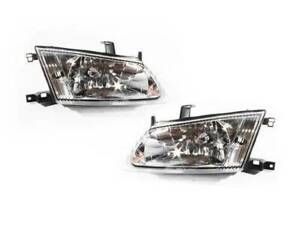 Pair of Headlights to suit Nissan Pulsar N16 Sedan 00-03 Series 1