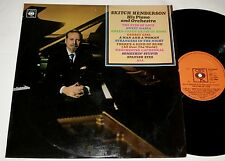 """SKITCH HENDERSON """" THE EYES OF LOVE """" 1960s JAZZ PIANO  LP ON CBS"""