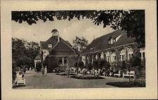 Bad Hersfeld Hessen ~1940 Badehaus Kurpark Kur Park Gebäude Parkanlage Menschen