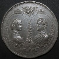 1871 Marriage of Princess Louise to the Marquis of Lorne Ottley Medal | KM Coins