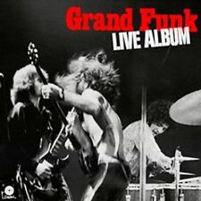 GRAND FUNK RAILROAD LIVE ALBUM REMASTERED CD NEW