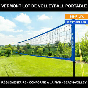 Vermont Matériel de Volley-Ball Portable - Professionnel ou Beach-Volley