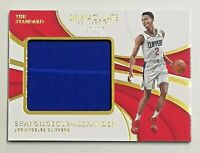 2018-19 Panini Immaculate Collection Shai Gilgeous-Alexander RC Patch 47/99