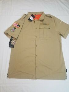 Nike Salute to Service New Orleans Saints Sideline Button-Up Shirt AT6781-297 L