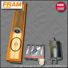 SERVICE KIT MERCEDES C200K W203 2.0 16V FRAM OIL AIR FUEL FILTER PLUG (2000-2002