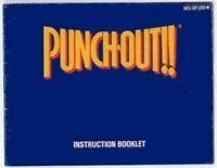 Punch-Out!! Original Nintendo NES Manual