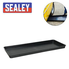 Sealey Plastic Low Profile Drip Tray 1000 x 400 x 50mm Garage Fuel Pan Pits