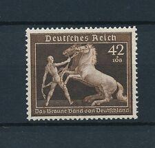 [37160] Germany Reich 1939 Brown ribbon Horse race  MNH VF Original gum! Mi#699