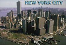 World Trade Center, The Twin Towers, New York City, NYC, Manhattan --- Postcard