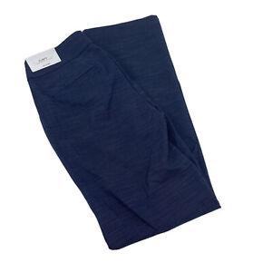 NWT Ann Taylor Curvy Trouser Dress Pants Stretch Pinpoint Womens Sz 2 Slate Blue