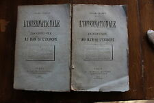O. TESTUT - L'INTERNATIONALE et le JACOBINISME au ban de l'Europe, Lachaud 1872