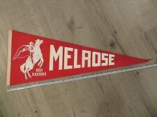 Melrose Massachusetts Mass MA High School Vintage Felt Pennant Flag Football