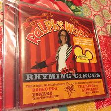 RALPH'S WORLD - Rhyming Circus - CD BRAND NEW & FACTORY SEALED Disney Playhouse!