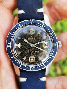 Pierce Scafandro Diver Compressor Swiss Men's Wristwatch