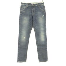 PLEASE Jeans Röhre Boyfriend Blau Navy Gr. S Small