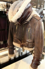 Burberry PRORSUM, the Iconic Runway Aviator Shearling, Rare Size 38! New w/tag