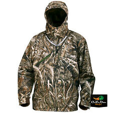 DRAKE WATERFOWL EST HEAT ESCAPE WATERPROOF 1/4 ZIP COAT JACKET MAX-5 CAMO LARGE