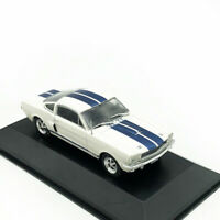Ford Mustang Shelby GT 350H 1965 1/43 Model Car Diecast Toy Vehicle Kids Gift