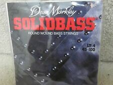 Dean Markley Lt-4 Solidbass round wound strings-new'old stock' 45-100