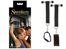 Stand-up Door Jam Cuffs Set By Sportsheets Keeping Couples Connected