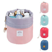 Travel Cosmetic Makeup Bag Toiletry Case Drawstring Pouch Wash Organizer Storage