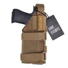 Molle Modular Belt Pistol Tactical Gun Holster Right Hand Shooter Glock Series
